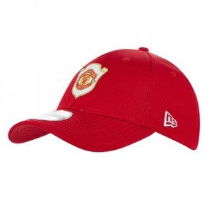 Manchester United New Era 9FORTY Treble Cap - Red - Adult