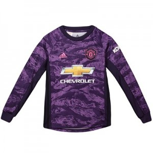 Manchester United Home Goalkeeper Shirt 2019 - 20 - Kids