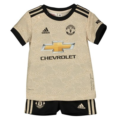 Manchester United Away Baby Kit 2019 - 20
