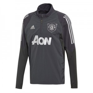 Manchester United Cup Training Top - Grey