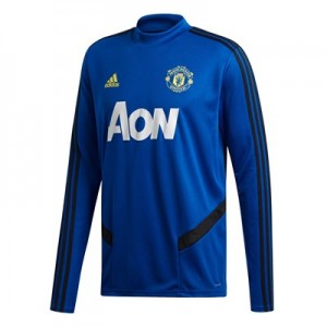 Manchester United LS Training Top - Blue