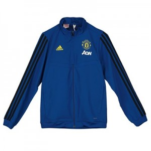 Manchester United Presentation Jacket - Blue - Kids
