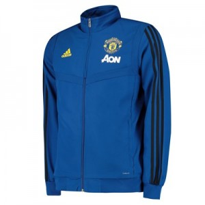 Manchester United Presentation Jacket - Blue