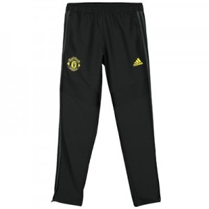 Manchester United Training Woven Pants - Black - Kids
