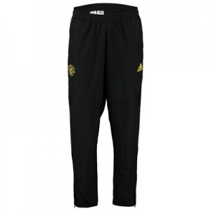 Manchester United Training Woven Pants - Black
