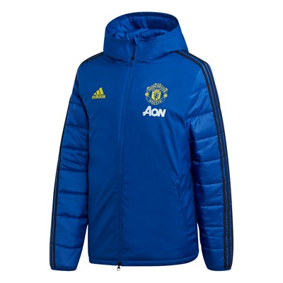 Manchester United Winter Training Jacket - Blue