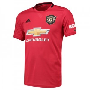Manchester United Home Shirt 2019 - 20