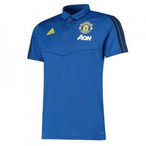 Manchester United Training Polo - Blue