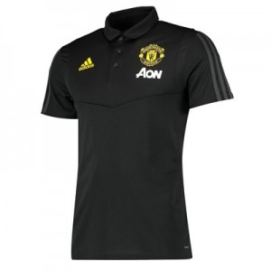Manchester United Training Polo - Black