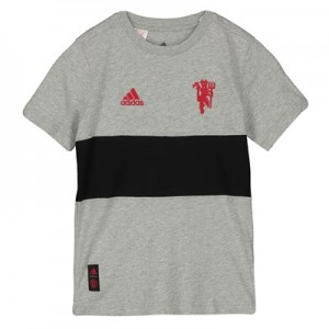 Manchester United Graphic Tee - Grey - Kids