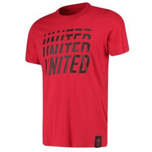 Manchester United DNA Graphic Tee - Red