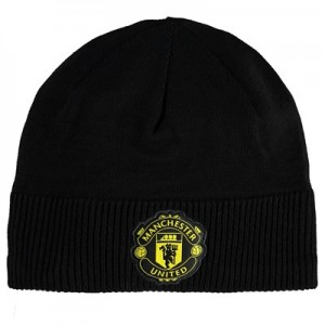 Manchester United Beanie - Black