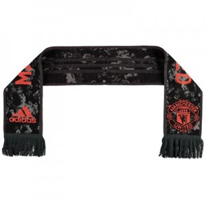 Manchester United Fans Third Scarf - Black