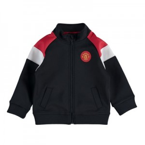 Manchester United Track Top - Black/Red/White - Baby
