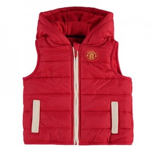 Manchester United Zip Gilet - Red - Infant