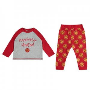 Manchester United Pyjama Set - Red/Grey - Baby