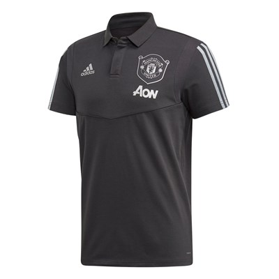 Manchester United Cup Training Polo - Grey