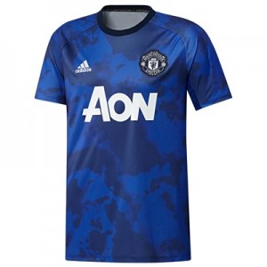 Manchester United Pre Match Shirt - Blue