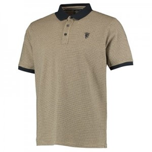 Manchester United Jacquard Polo Shirt - Mens