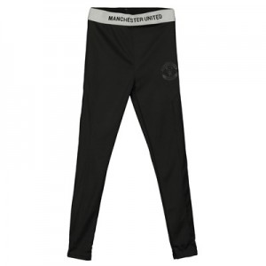 Manchester United Core Poly Jogger Pants - Black - Boys
