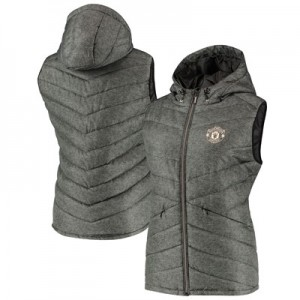 Manchester United Gillet - Dark Blue - Womens