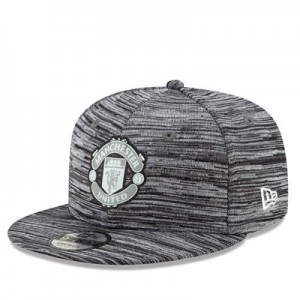 Manchester United New Era Reflect 9FIFTY Snapback Cap - Grey - Adult