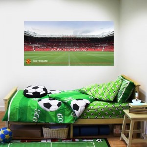 Manchester United Old Trafford Stadium Wall Sticker - 90x50cm