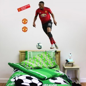 Manchester United Anthony Martial Wall Sticker Set - 120x60cm