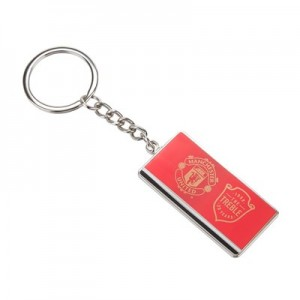 Manchester United The Treble 20th Anniversary Keyring