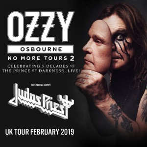 Ozzy Osbourne (Block 3 & 4 Upper) Ticket