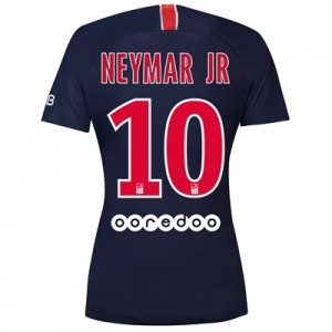 Paris Saint-Germain Home Stadium Shirt 2018-19 - Womens with Neymar Jr 10 printing