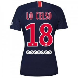 Paris Saint-Germain Home Stadium Shirt 2018-19 - Womens with Lo Celso 18 printing