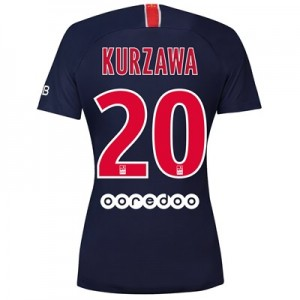 Paris Saint-Germain Home Stadium Shirt 2018-19 - Womens with Kurzawa 20 printing