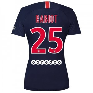 Paris Saint-Germain Home Stadium Shirt 2018-19 - Womens with Rabiot 25 printing