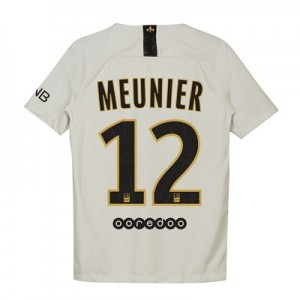 Paris Saint-Germain Away Stadium Shirt 2018-19 - Kids with Meunier 12 printing