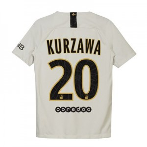 Paris Saint-Germain Away Stadium Shirt 2018-19 - Kids with Kurzawa 20 printing