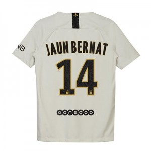 Paris Saint-Germain Away Stadium Shirt 2018-19 - Kids with Juan Bernat 14 printing