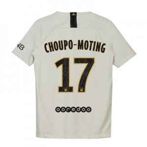Paris Saint-Germain Away Stadium Shirt 2018-19 - Kids with Choupo-Moting 17 printing