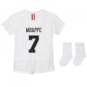Paris Saint-Germain Third Away Stadium Kit 2018-19 - Infants with Mbappé 7 printing