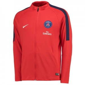 Paris Saint-Germain Strike Aeroswift Track Jacket - Red