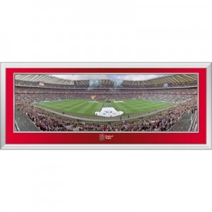 England QBE International 2012 Panoramic Frame - 822 x 348 mm
