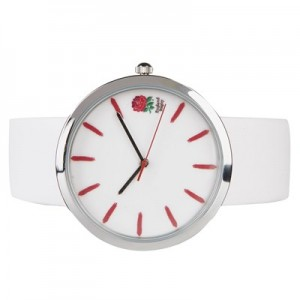 England Alloy and Leather Watch - Womens
