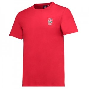 England Core Small Rose T-Shirt - Red - Mens