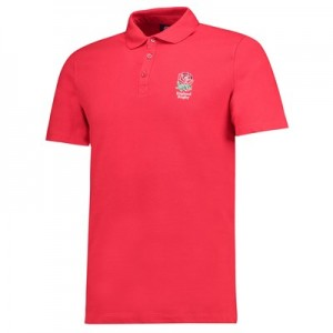 England Core Polo - Red - Mens