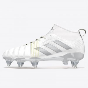adidas Kakari X Kevlar Soft Ground Rugby Boots - White