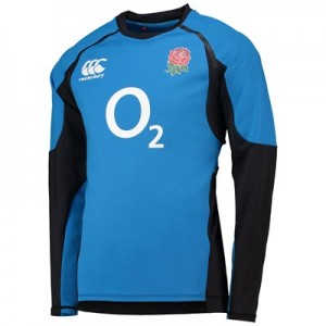 England Rugby Vaposhield Drill Top - Directoire Blue - Mens