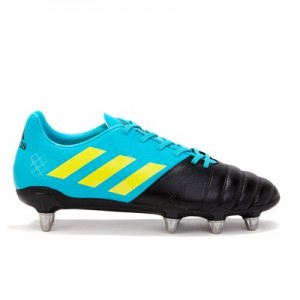 adidas Kakari Soft Ground Rugby Boot - Aqua/Yellow/Black