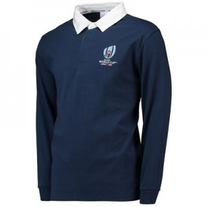 Rugby World Cup 2019 Rugby Shirt Long Sleeved - Navy - Mens