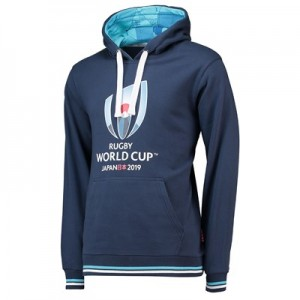 Rugby World Cup 2019 Overhead Hoodie - Navy - Mens