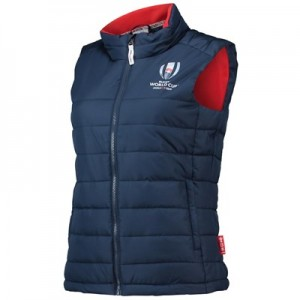 Rugby World Cup 2019 Padded Gillet - Navy - Womens